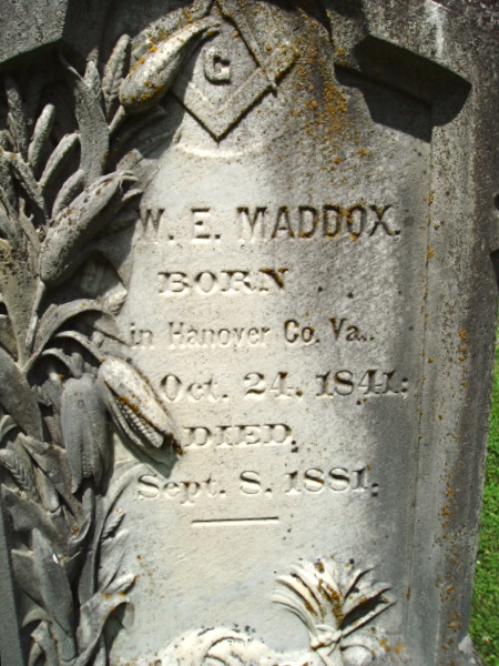 Town Marshal William E. Maddox   Shelbyville Police Department, Kentucky