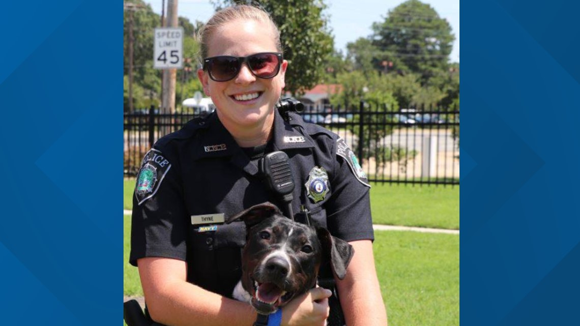 Police Officer Katherine Mary Thyne   Newport News Police Department, Virginia