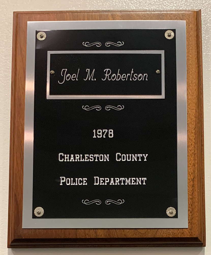 Detective Joel Michael Robertson | Charleston County Police Department, South Carolina