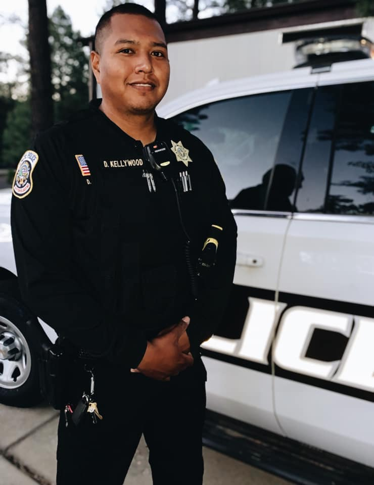 Officer David W. Kellywood | White Mountain Apache Tribal Police Department, Tribal Police