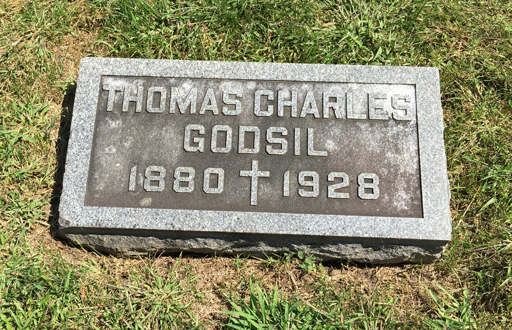 Patrolman Thomas Charles Godsil | Galesburg Police Department, Illinois