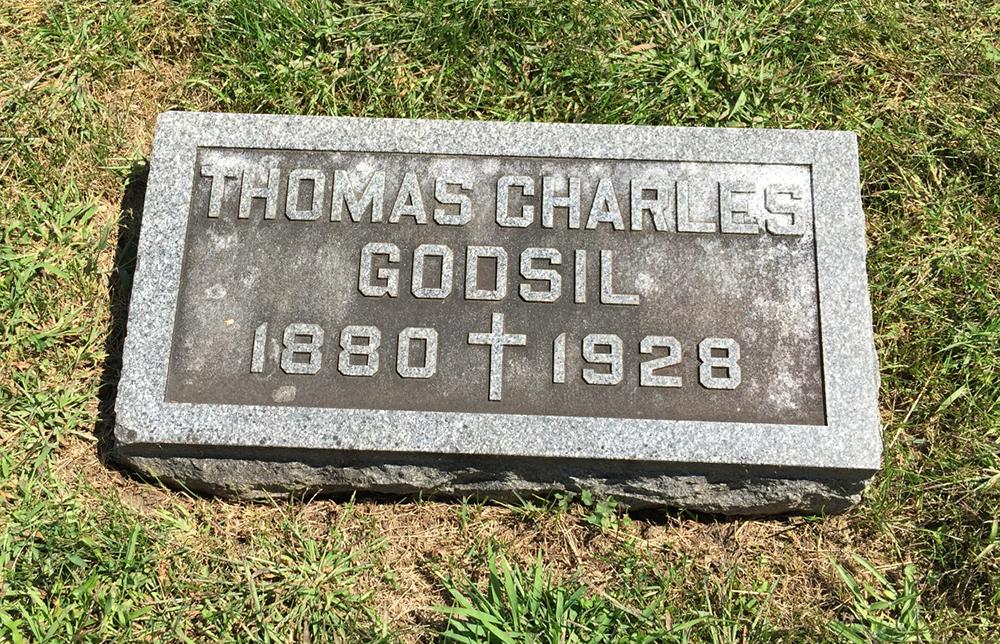 Patrolman Thomas Charles Godsil   Galesburg Police Department, Illinois