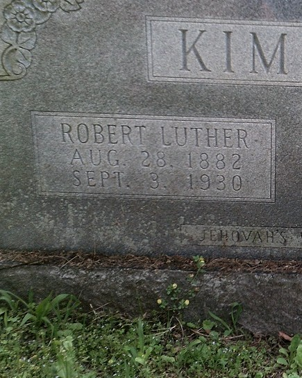 Policeman Robert Luther Kimsey, Sr. | Rome Police Department, Georgia