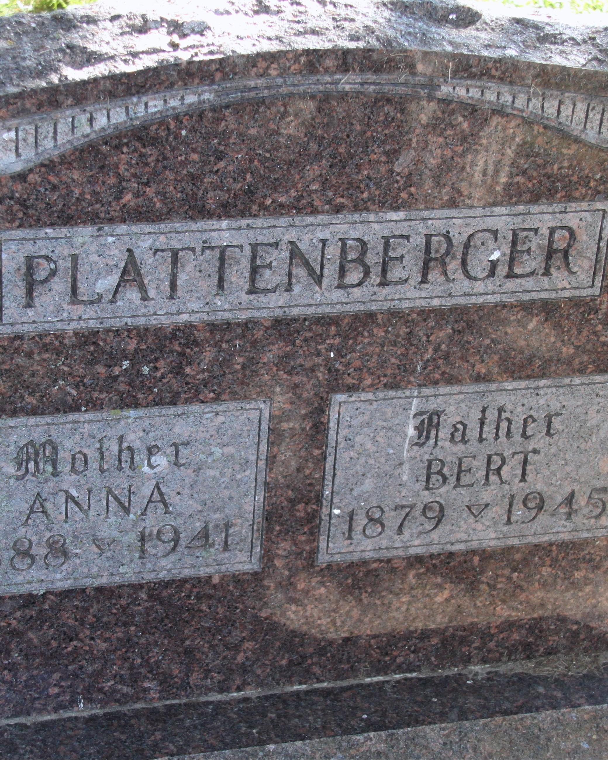 Police Officer Bert Sylvester Plattenberger   Savanna Police Department, Illinois