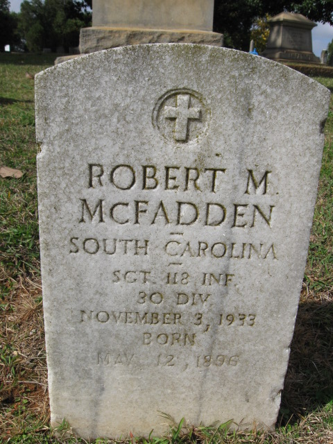 Police Officer Robert Morris McFadden | Rock Hill Police Department, South Carolina