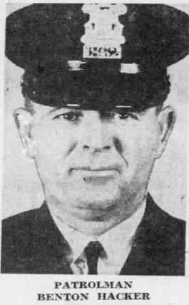 Police Officer Benton J. Hacker | Detroit Police Department, Michigan