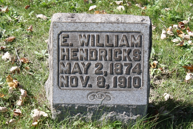 Special Officer E. William Hendricks | Michigan Central Railroad Police Department, Railroad Police