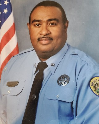 Senior Police Officer Mark Hall, Sr.