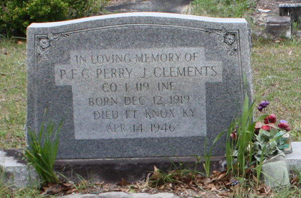 Military Police Officer Perry Jackson Clements | United States Army Military Police Corps, U.S. Government