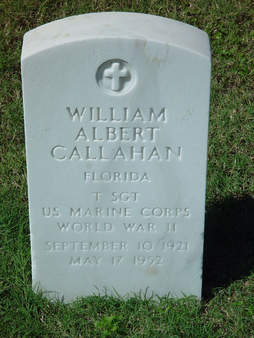Technical Sergeant William Albert Callahan | United States Marine Corps Military Police, U.S. Government
