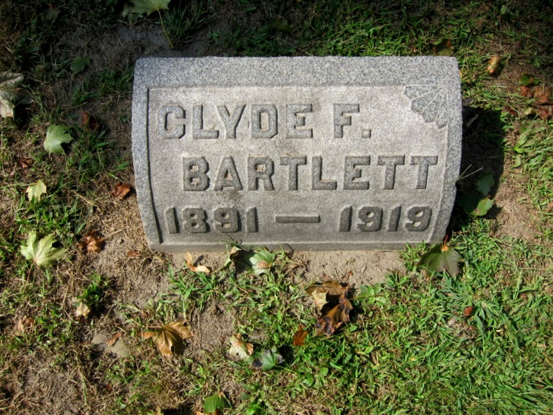 Sergeant Clyde F. Bartlett   New York Central Railroad Police Department, Railroad Police