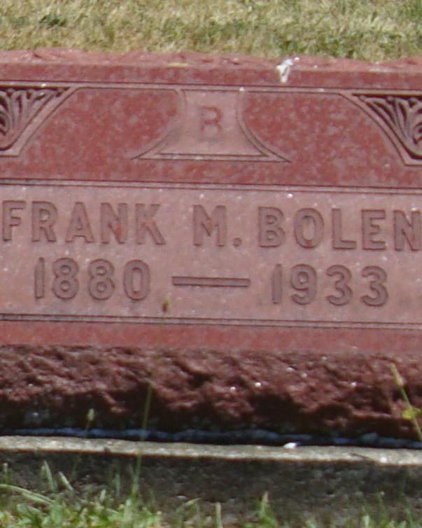 Special Agent Frank M. Bolen | Illinois Central Railroad Police Department, Railroad Police
