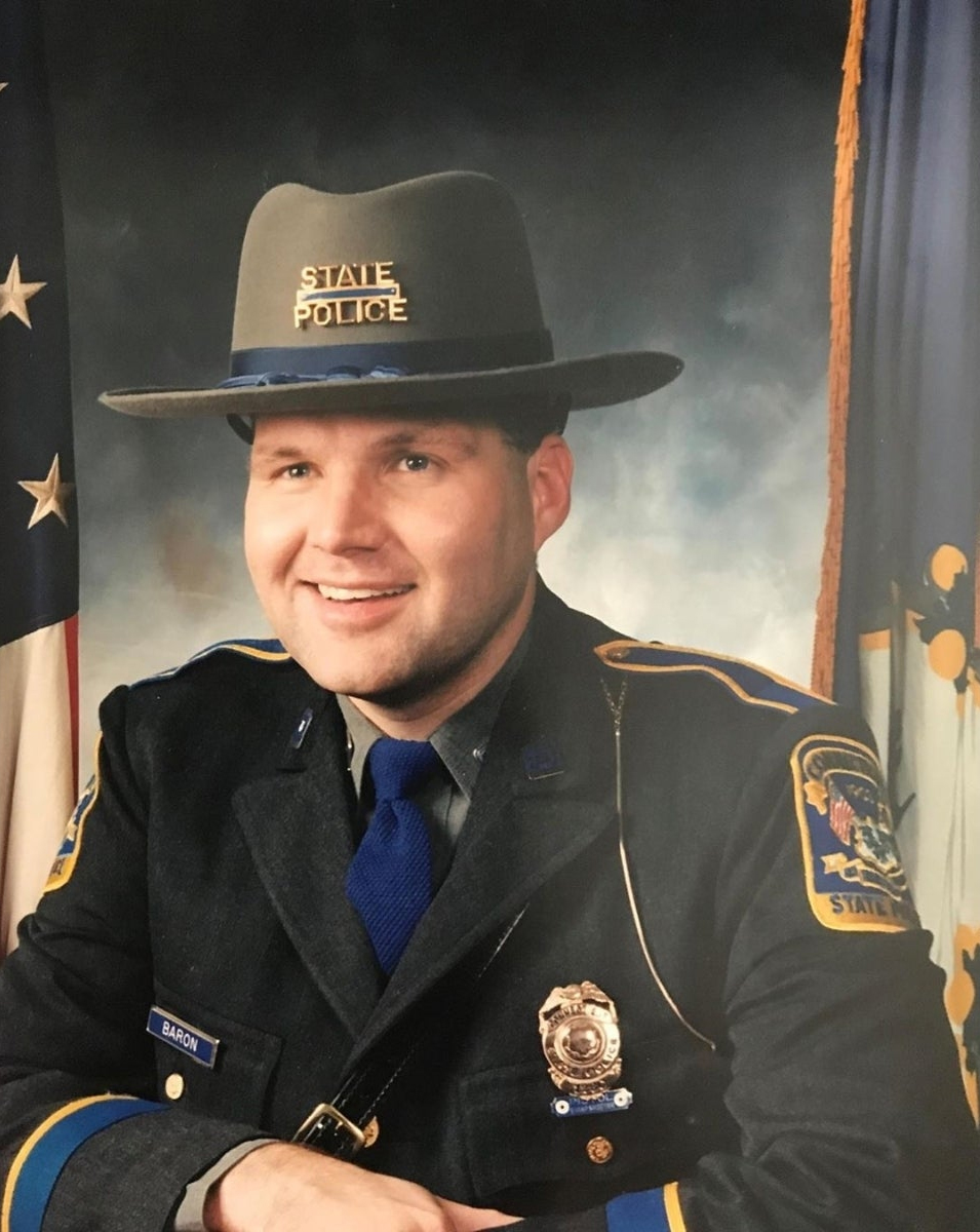 Trooper First Class Eugene Kenneth Baron, Jr. | Connecticut State Police, Connecticut