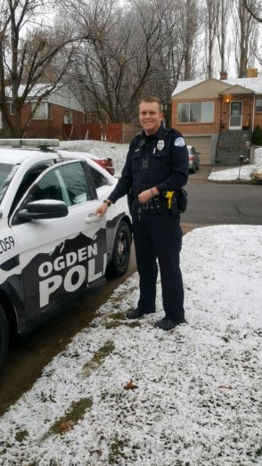 Police Officer Nathan James Lyday | Ogden Police Department, Utah