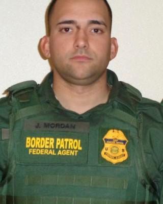 Border Patrol Agent Johan Mordan