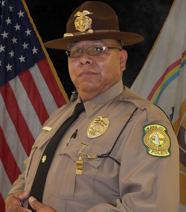 Police Officer Michael Lee | Navajo Division of Public Safety, Tribal Police
