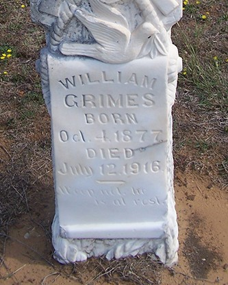 Special Watchman William George Grimes | Missouri-Kansas-Texas Railroad Police Department, Railroad Police