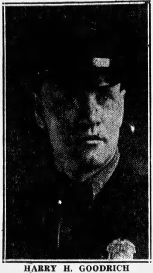 Sergeant Harry Howard Goodrich | Delaware and Hudson Railway Police Department, Railroad Police