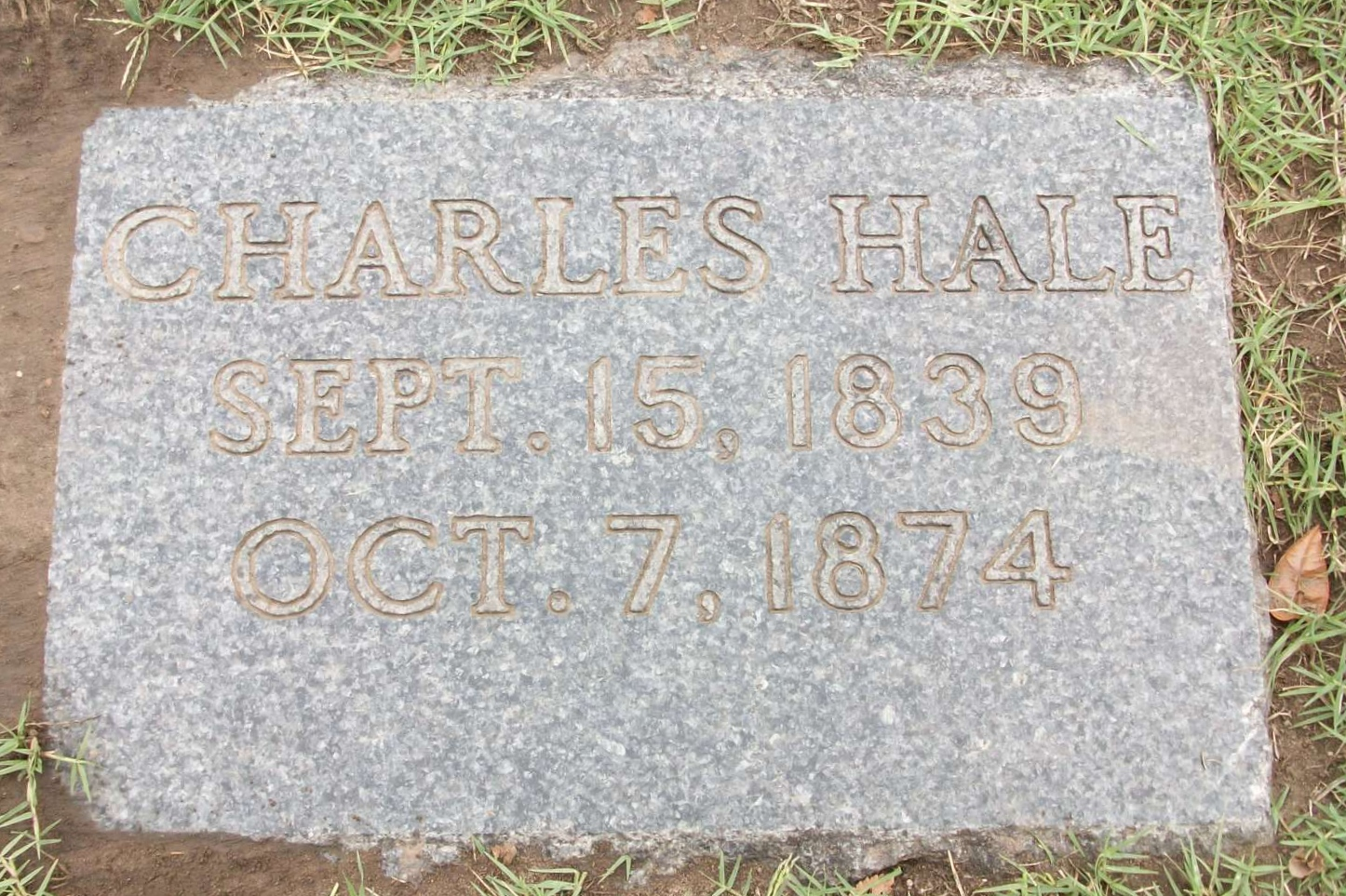 Special Officer Charles Hale | Atchison, Topeka and Santa Fe Railroad Police Department, Railroad Police