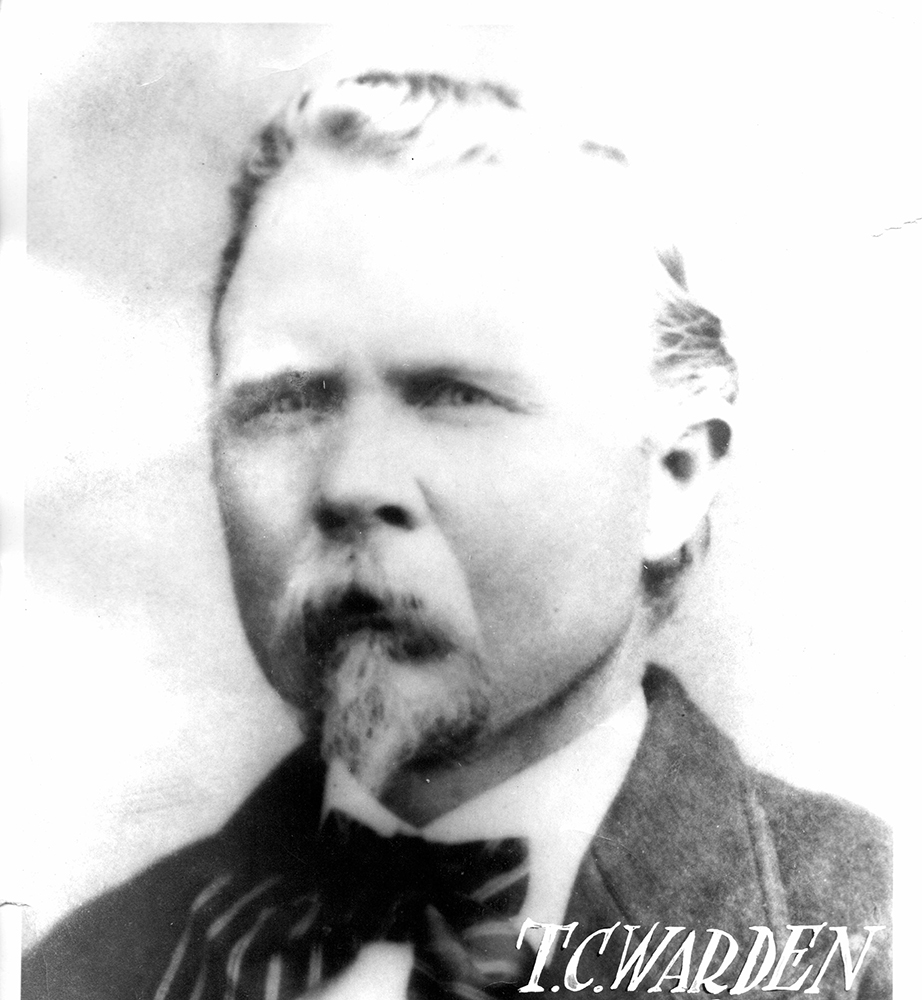 Special Officer Thomas Clay Warden | Atchison, Topeka and Santa Fe Railroad Police Department, Railroad Police