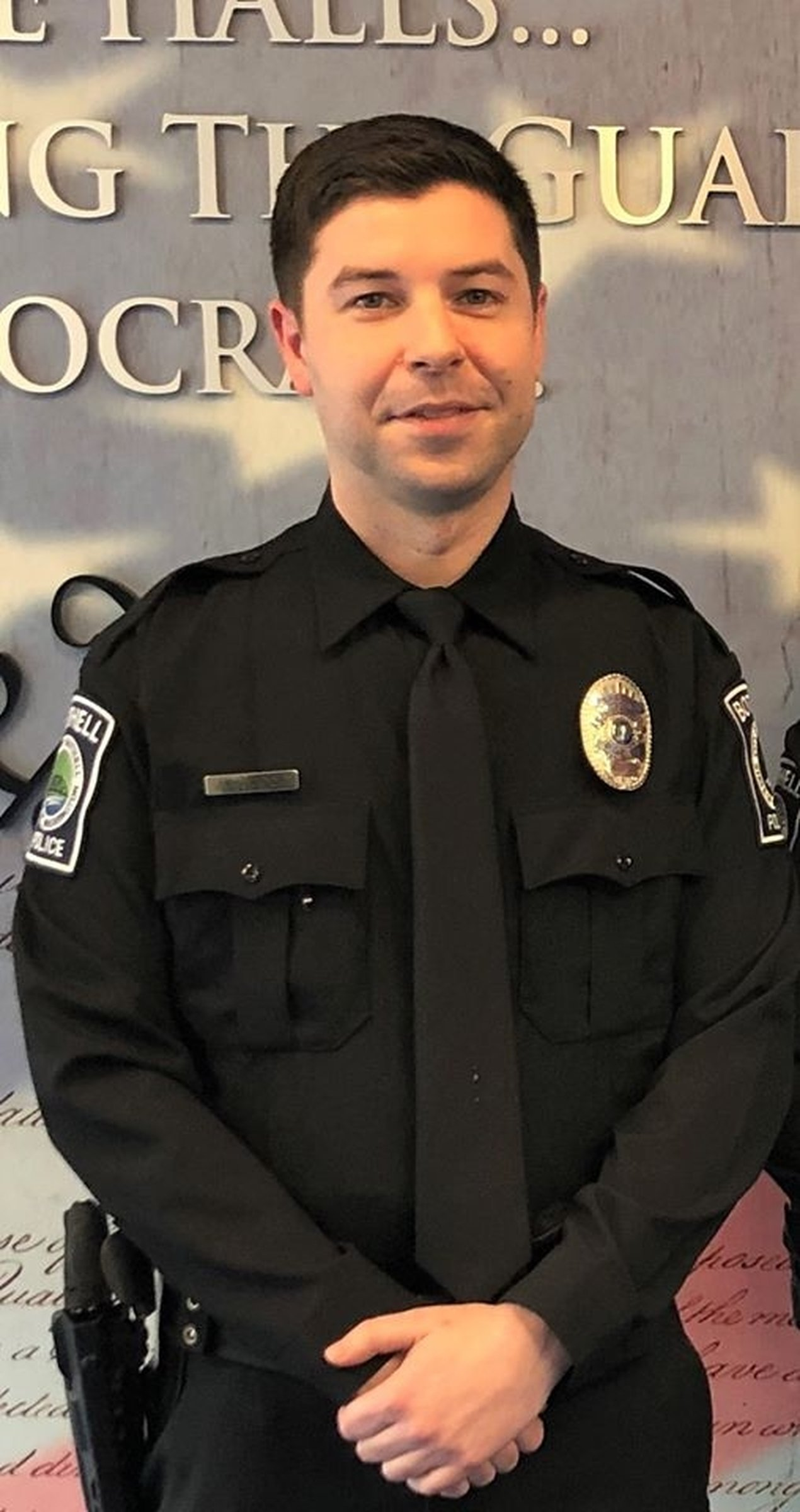 Police Officer Jonathan Shoop | Bothell Police Department, Washington