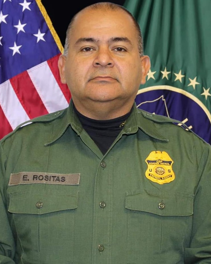 Border Patrol Agent Enrique J. Rositas, Jr. | United States Department of Homeland Security - Customs and Border Protection - United States Border Patrol, U.S. Government