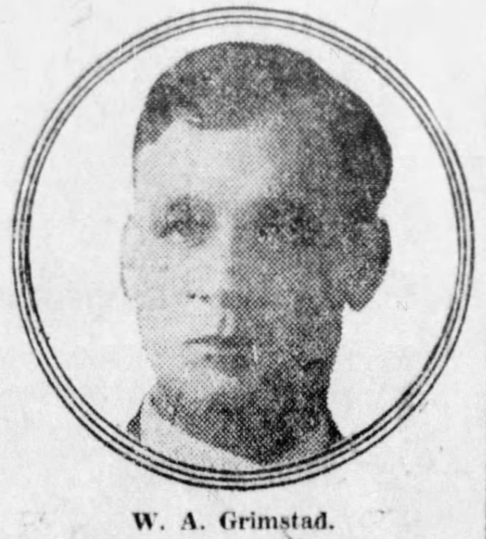 Detective William Arthur Grimstad | Minneapolis, St. Paul and Sault Ste. Marie Railroad Police Department, Railroad Police