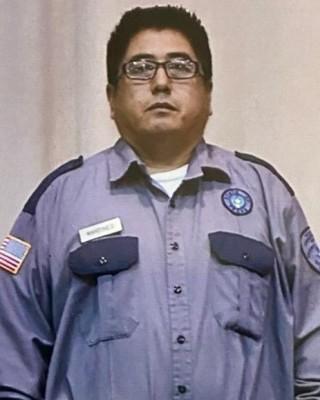Corrections Officer IV Ruben Martinez