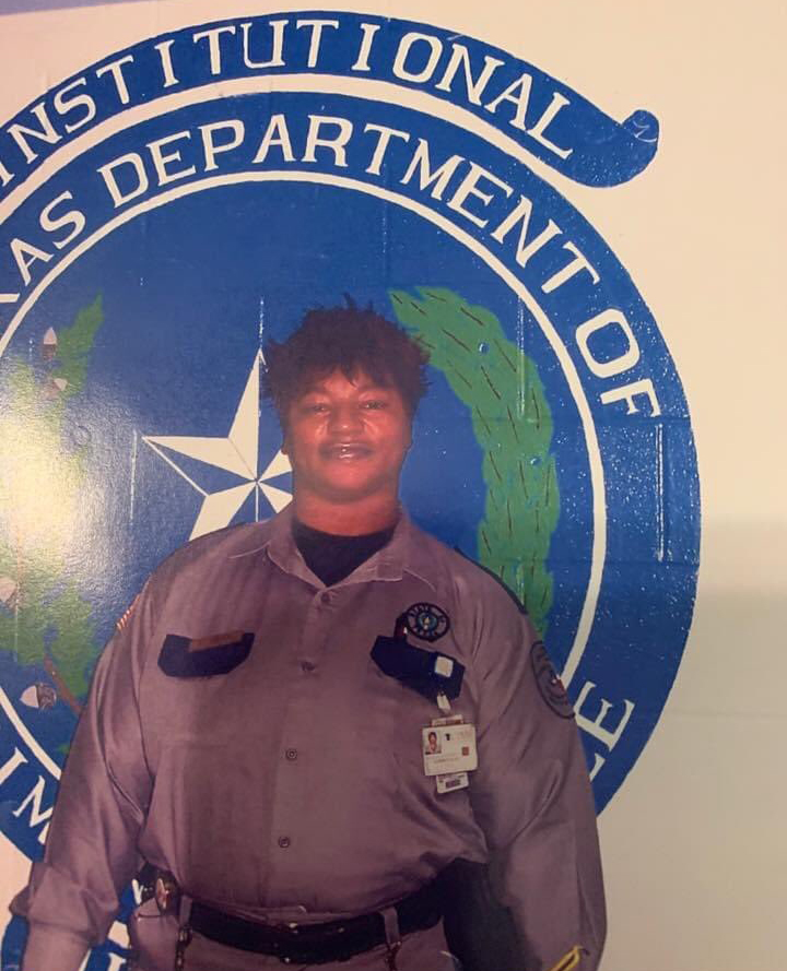 Corrections Officer V Elizabeth Jones | Texas Department of Criminal Justice - Institutional Division, Texas