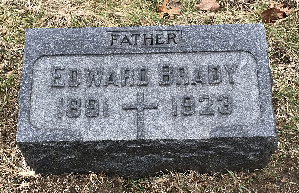 Detective Edward Michael Brady | New York, Chicago and St. Louis Railroad Police Department, Railroad Police