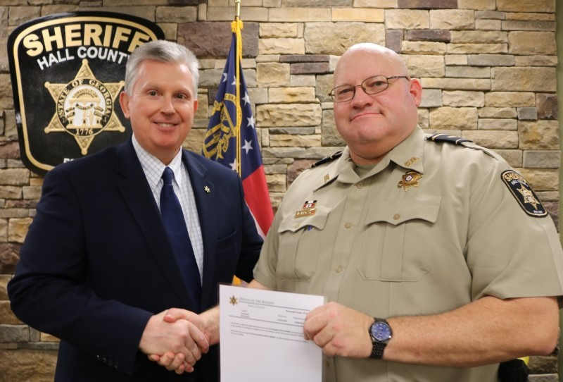 Lieutenant Brian McNair | Hall County Sheriff's Office, Georgia