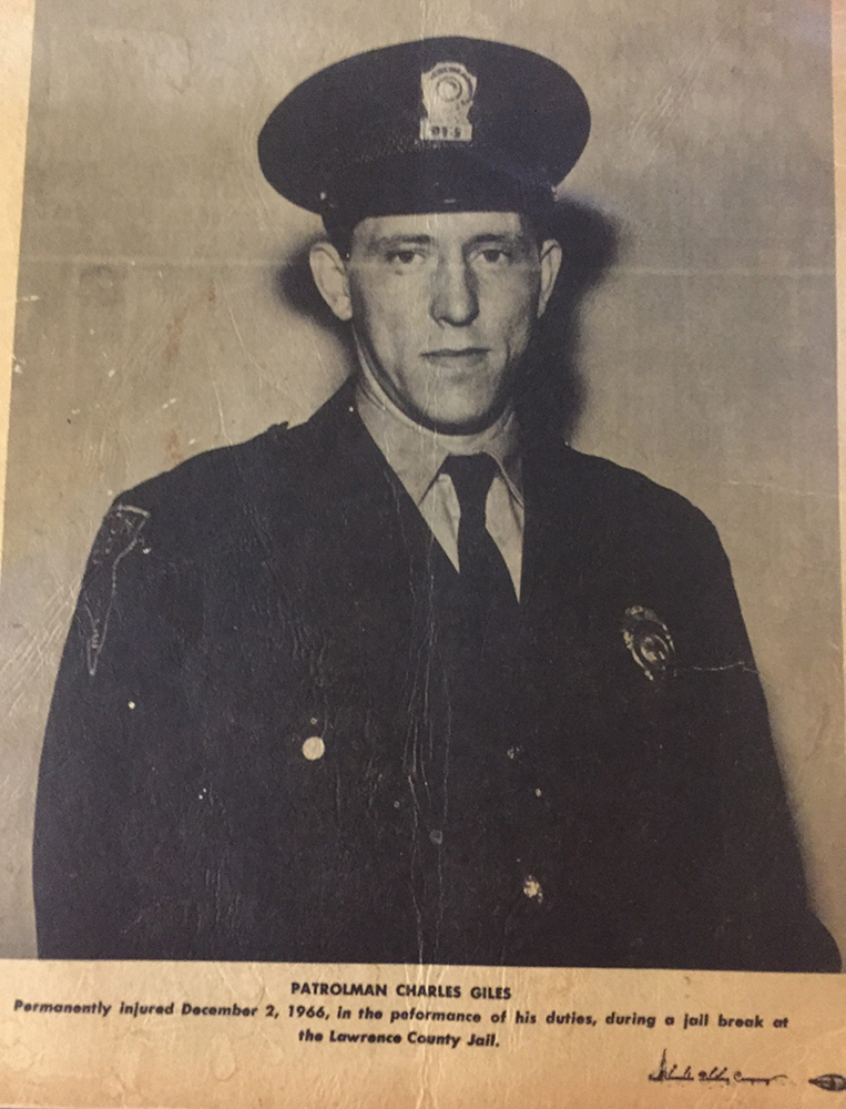 Patrolman Charles William Giles | Ironton Police Department, Ohio