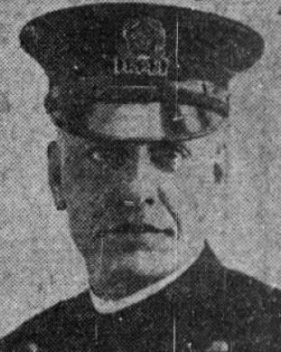 Sergeant John Franklin Montague | Boston Police Department, Massachusetts