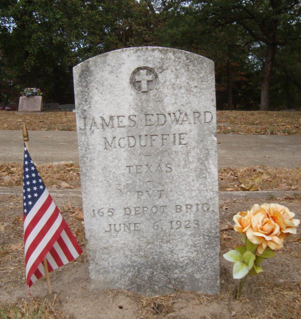 Special Agent James Edward McDuffie | St. Louis Southwestern Railway Police Department, Railroad Police