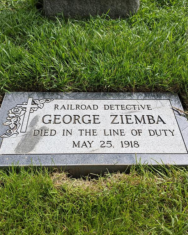 Railroad Detective George Ziemba | Michigan Central Railroad Police Department, Railroad Police