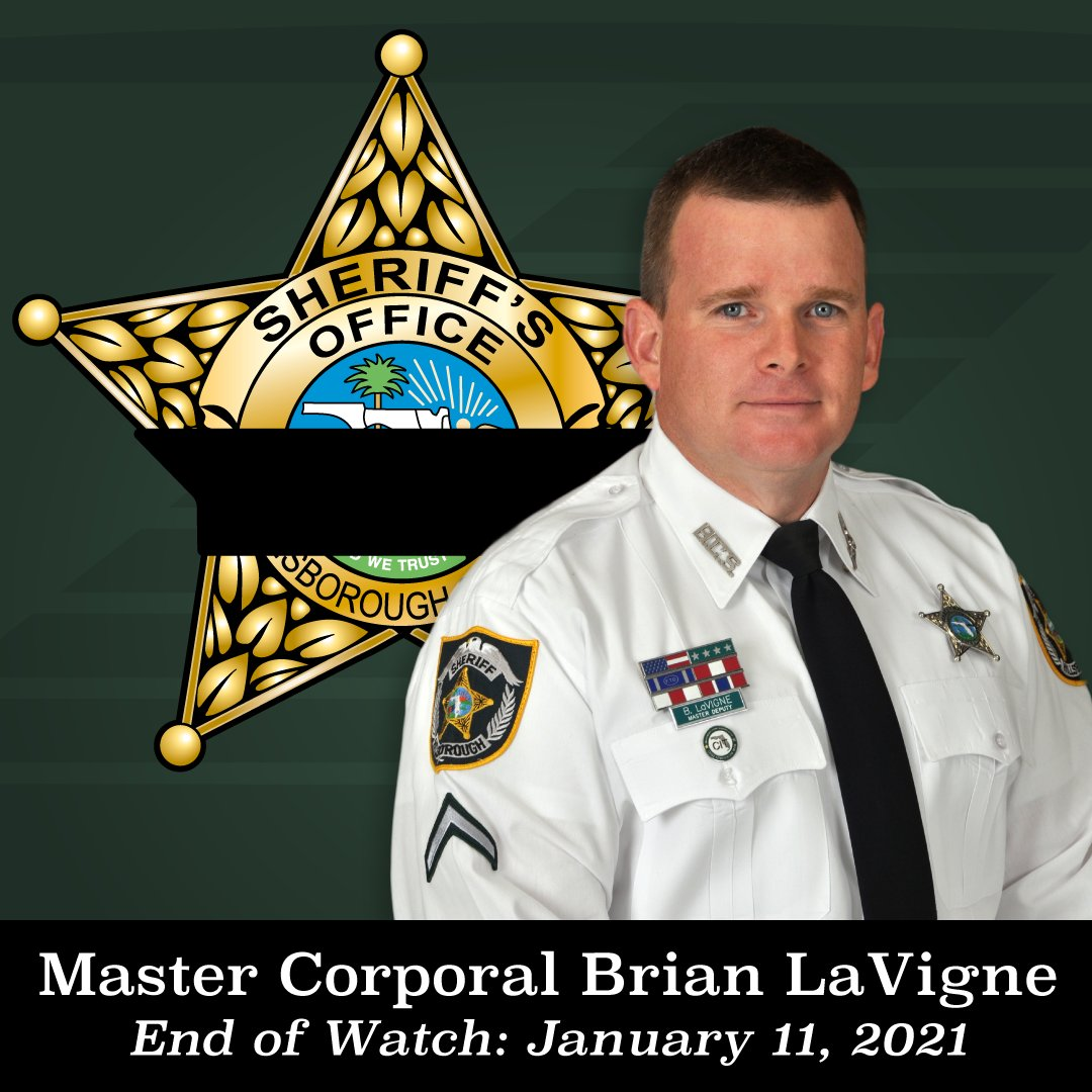 Master Corporal Brian Roy LaVigne | Hillsborough County Sheriff's Office, Florida