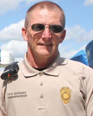 Conservation Officer Steven Reighard