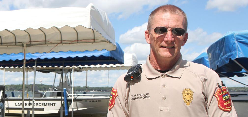 Conservation Officer Steven Reighard | Iowa Department of Natural Resources, Iowa