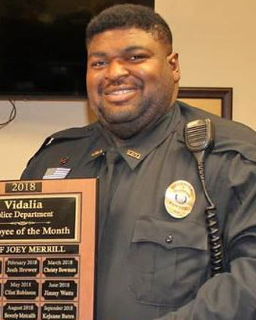 Police Officer Kejuane Artez Bates   Vidalia Police Department, Louisiana