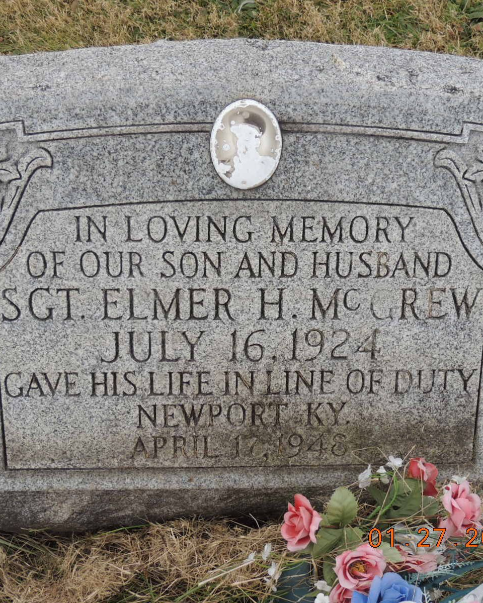 Sergeant Elmer H. McGrew | United States Army Military Police Corps, U.S. Government