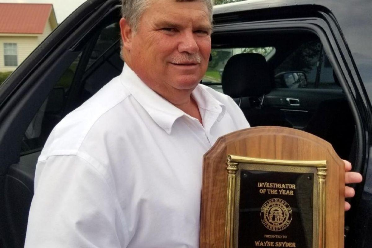 Special Agent Wayne Douglas Snyder | Georgia Department of Corrections, Georgia
