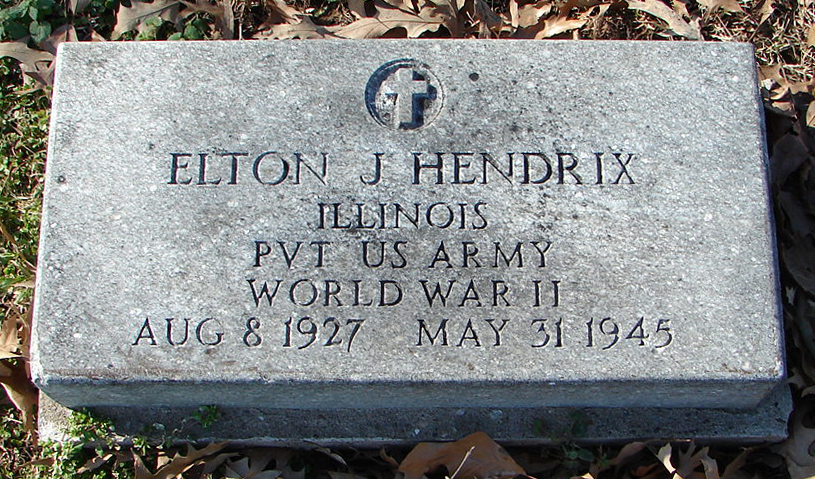 Private Elton John Hendrix | United States Army Corrections Command, U.S. Government