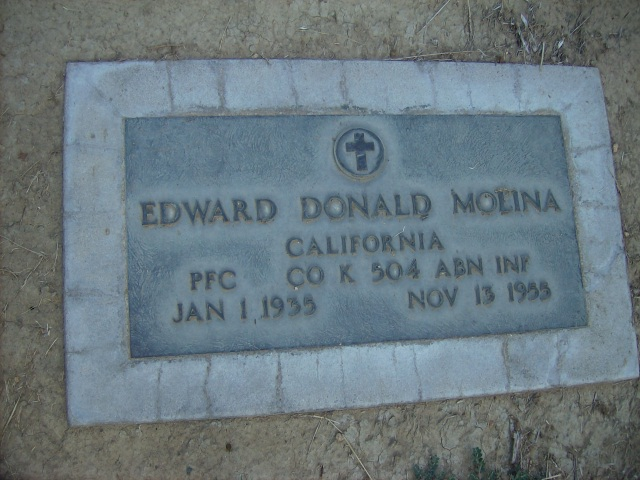 Private First Class Edward Donald Molina | United States Army Military Police Corps, U.S. Government
