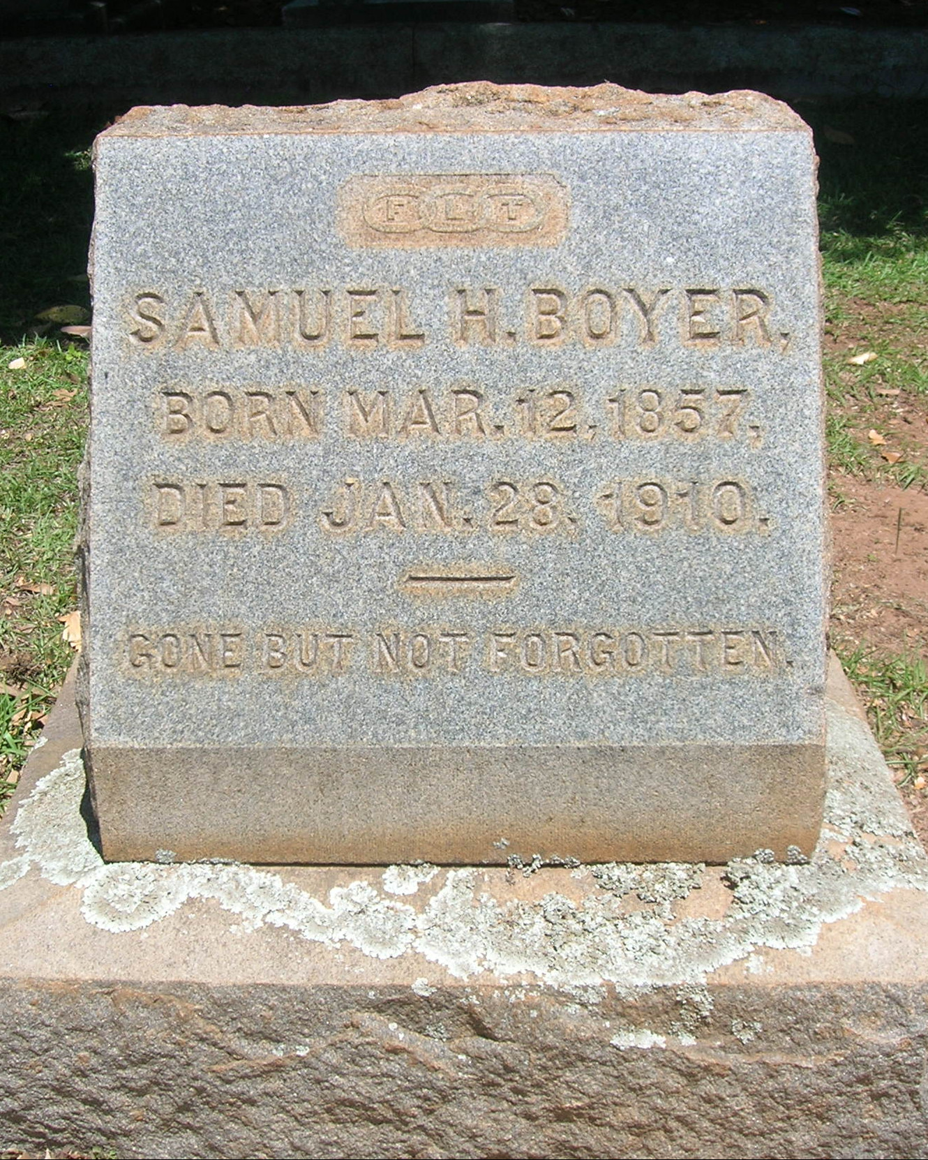 Special Officer Samuel H. Boyer | Southern Railway Police Department, Railroad Police