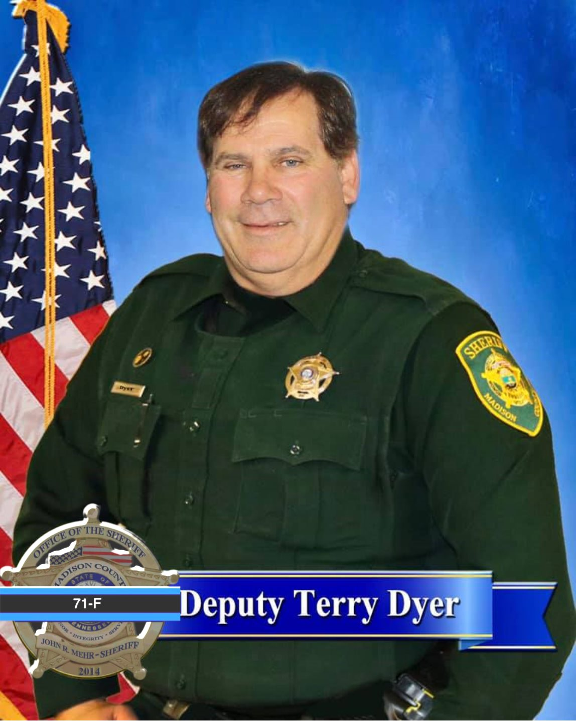 Deputy Sheriff Terry Dyer | Madison County Sheriff's Office, Tennessee