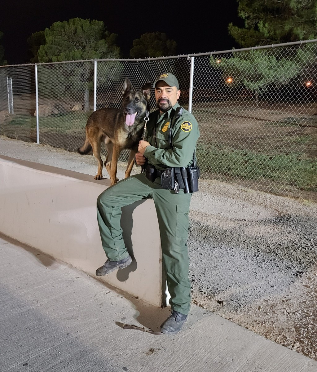 Border Patrol Agent Freddie Vasquez   United States Department of Homeland Security - Customs and Border Protection - United States Border Patrol, U.S. Government