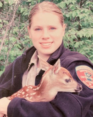 Conservation Officer Sarah Grell