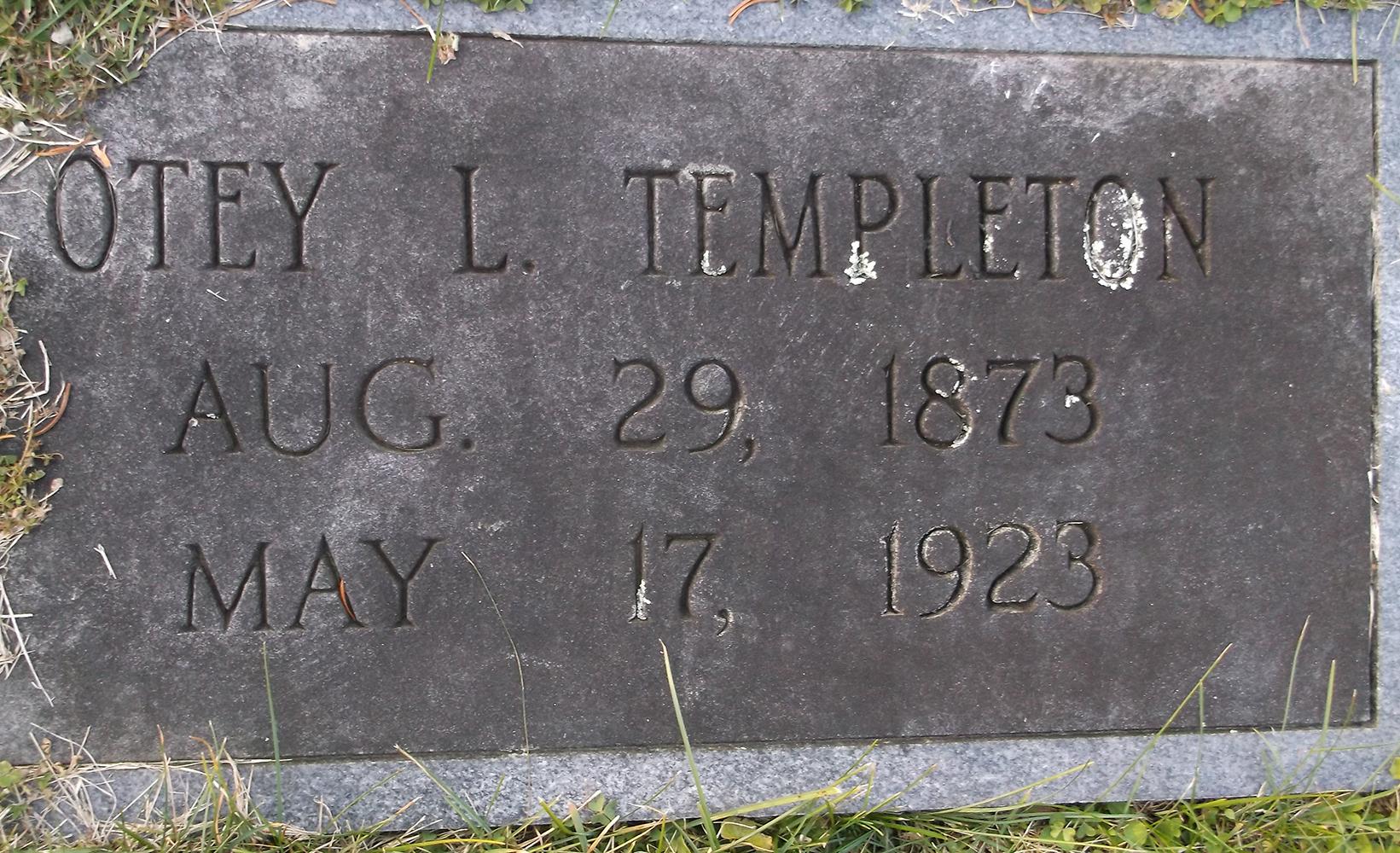 Deputy Sheriff Robert Otey Lee Templeton | Greene County Sheriff's Office, Tennessee