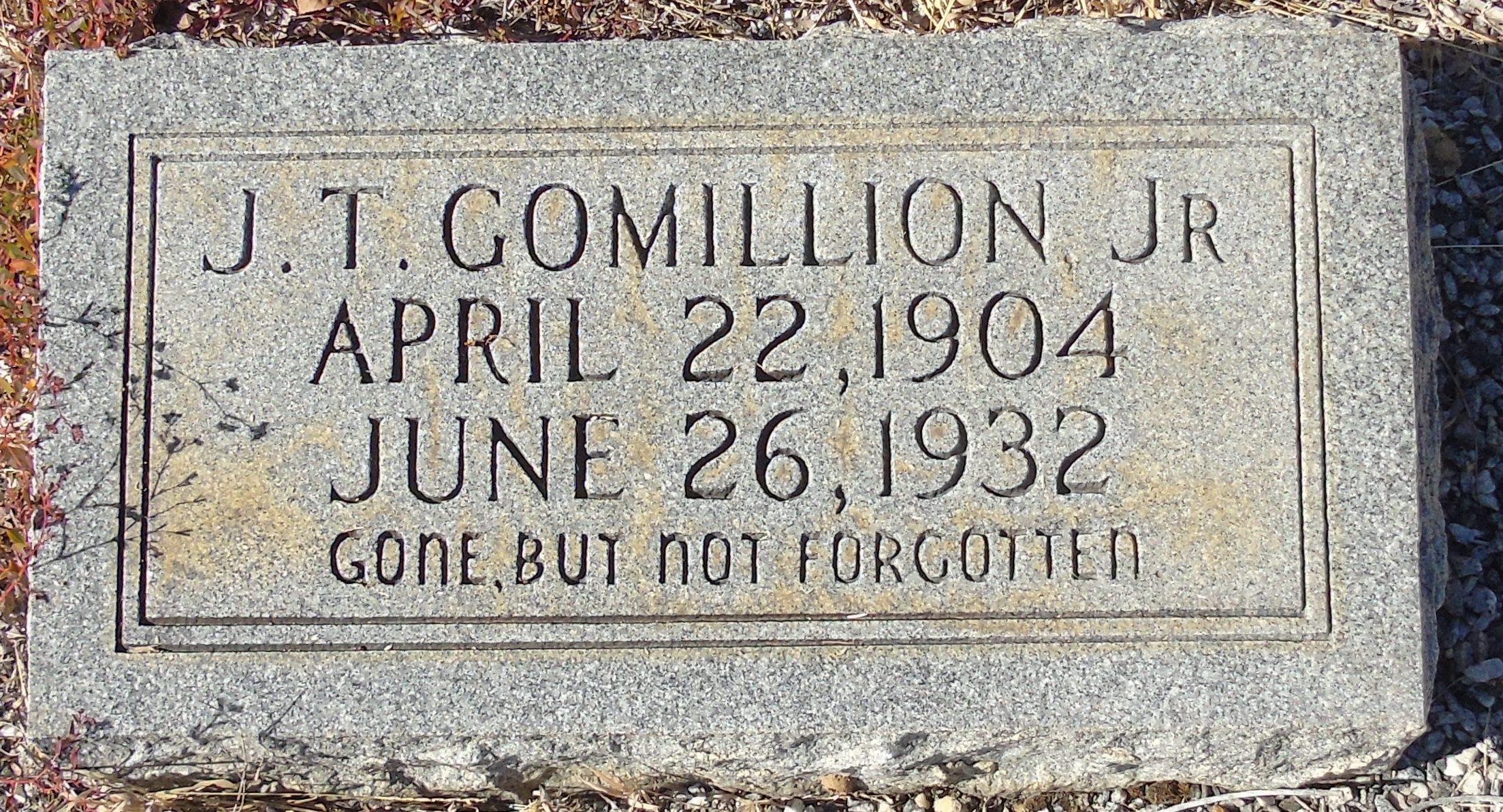 Deputy Sheriff J. T. Gomillion, Jr.   Covington County Sheriff's Office, Alabama