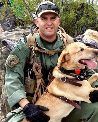 Supervisory Border Patrol Agent Daniel Cox